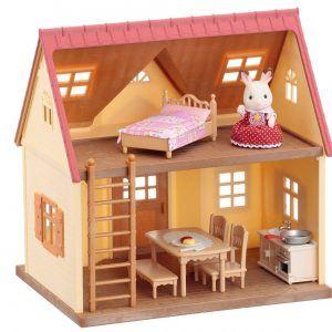 sylvanian casa de conejos