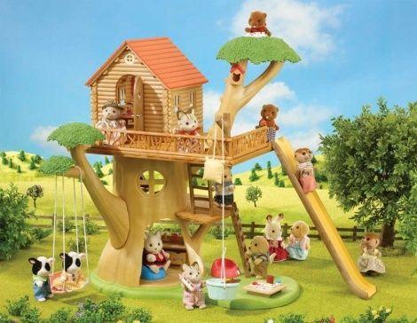 Casa del árbol de Sylvanian Families
