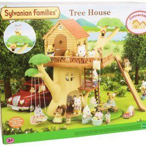 casa en los arboles sylvanian families