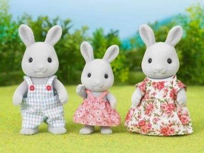 Família de Conejos Sylvanian Families