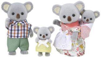 Epoch-Sylvanian-Families-Sylvanian-Family-Doll-Fs-15-Family-of-Koala-japan-import-0