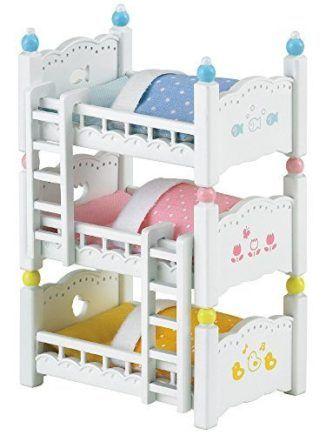 Sylvanian-Families-2919-Litera-de-tres-pisos-Importado-de-Alemania-0-5