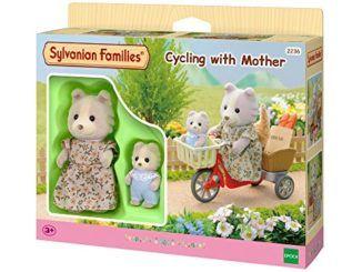 Sylvanian-Family-2236-Bicicleta-con-mam-y-beb-perrito-0
